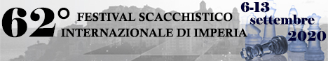 Banner 62° Festival Scacchistico Imperiese